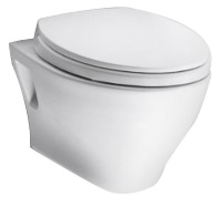 TOTO CT418F#01 Aquia Wall-Hung Dual-Flush Toilet Bowl